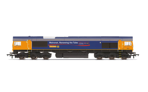 Hornby R30021 OO Gauge GBRf, Class 66, Co-Co, 66721 'Harry Beck' - Era 11