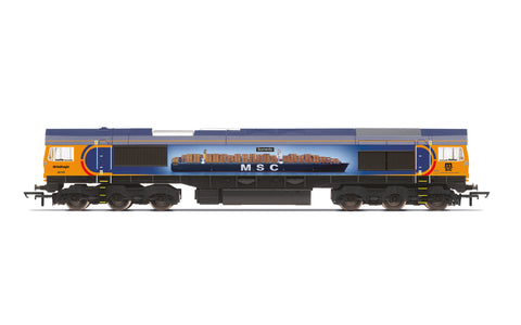 Hornby R30022 OO Gauge GBRf, Class 66, Co-Co, 66709 'Sorrento' - Era 10