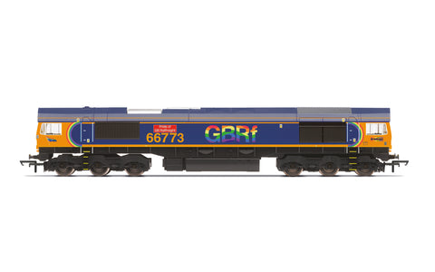 Hornby R30023 OO Gauge GBRf, Class 66, Co-Co, 66773 'Pride of GB Railfreight' - Era 11