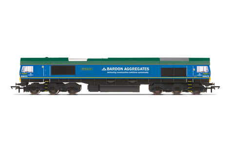 Hornby R30024 OO Gauge Freightliner, Class 66, Co-Co, 66623 'Bill Bolsover' - Era 11