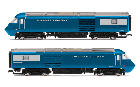Hornby R30077 OO Gauge Midland Pullman, Class 43 HST, M43046 & M43055, Train Pack - Era 11