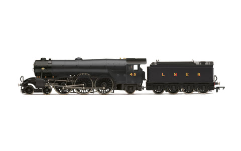 Hornby R30087 OO Gauge LNER, A3 Class, No. 45 'Lemberg' (diecast footplate and flickeirng firebox) - Era 3