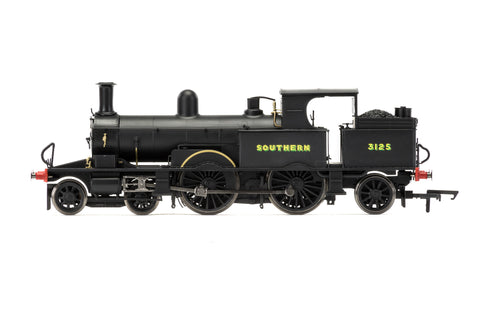 Hornby R3422 OO Gauge SR Black Adams Radial 3125