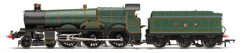 Hornby R3455 OO Gauge GWR Green Star Class 4013 Knight of St Patrick