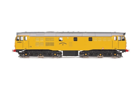 Hornby R3745 OO Gauge Network Rail Class 31 No 31602 Driver Dave Green