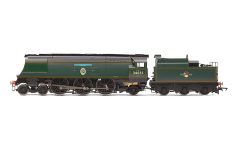 Hornby R3866 OO Gauge BR, Battle of Britain Class, 4-6-2, 34051 'Winston Churchill' - Era 11