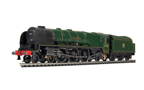 Hornby R3918 OO Gauge BR, Coronation Class, 4-6-2, 46252 'City of Leicester' - Era 5