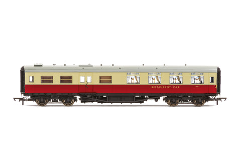 Hornby R40029A OO Gauge BR, Maunsell Kitchen/Dining First, S7955S - Era 4