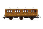 Hornby R40081 OO Gauge LNER, 6 Wheel Coach, 1st Class, 4172 - Era 3