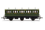 Hornby R40086A OO Gauge SR, 6 Wheel Coach, 3rd Class, 1909 - Era 3