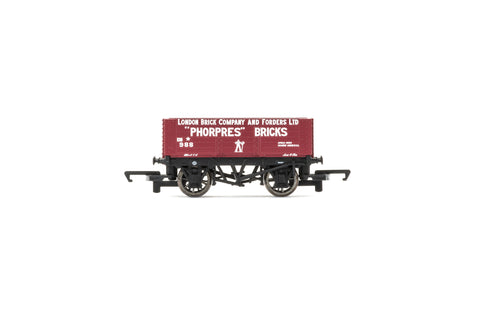 Hornby R6754 OO Gauge 6 Plank Wagon London Brick Company