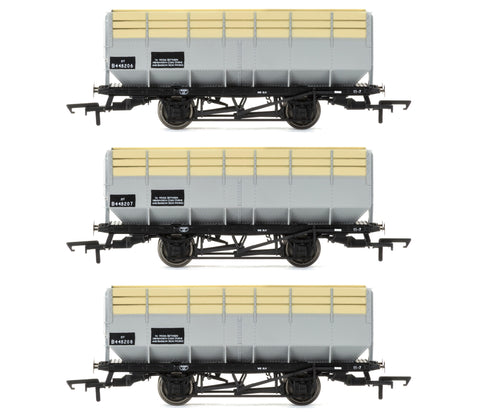 Hornby R6783 OO Gauge BR 20t Coke Hopper Wagon Triple Pack