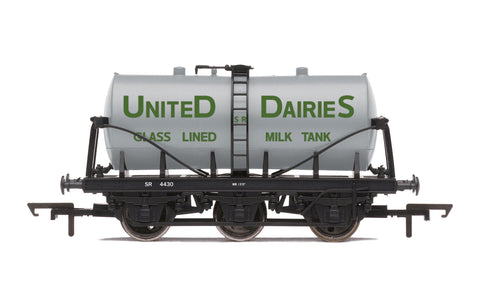 Hornby R6992 OO Gauge 14T Tank Wagon, United Daries - Era 3