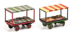 Wills SS37 OO Gauge Market Traders Barrow Stalls Kit