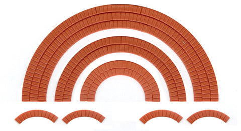 Wills SS55 OO Gauge Brick Arch Overlays Kit