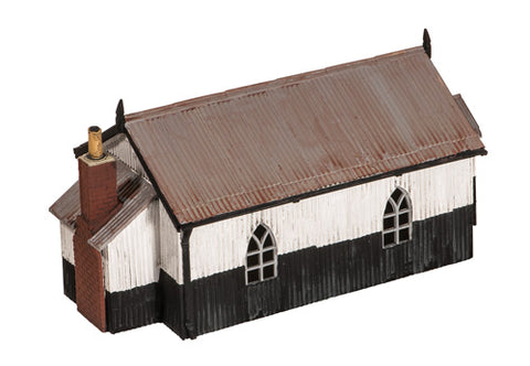 Wills SS70 OO Gauge Corrugated Iron Chapel Kit