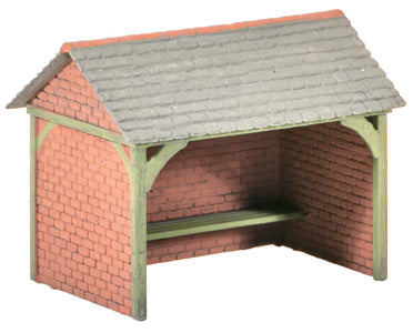 Wills SS75 OO Gauge Bus Shelter Kit