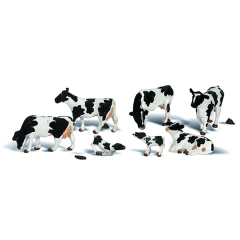 Woodland Scenics A2724 O Gauge Holstein Cows