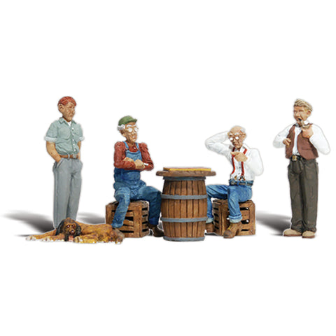 Woodland Scenics A2727 O Gauge Checkers/Draughts Players
