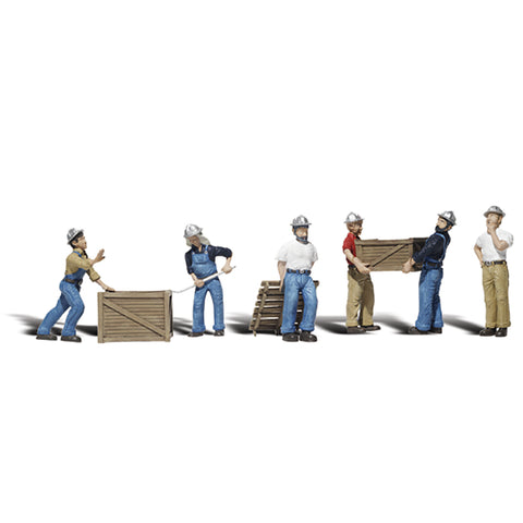 Woodland Scenics A2729 O Gauge Dock Workers