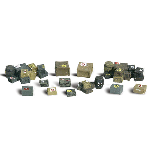 Woodland Scenics A2739 O Gauge Assorted Crates