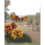 "Woodland Scenics TR1576 2""-3"" Ready Made Fall Colours Deciduous Value Pack (23/Pk)"