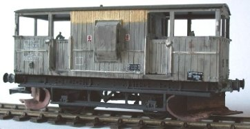 Cambrian C14 OO Gauge BR Shark 20t Plough Brake Van Kit
