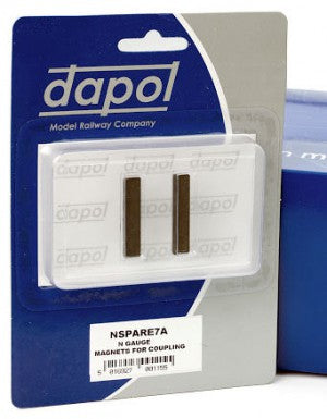 Dapol 2A-000-006 N Gauge Magnets for Coupling