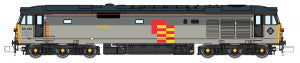 Dapol 2D-002-005D N Gauge Class 50 149 Defiance Railfreight Grey Refurbished (DCC-Fitted)