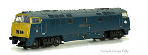 Dapol 2D-003-015 N Gauge Western Duke BR Chromatic Blue SYE D1043 Large Double Arrows