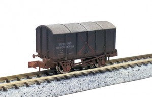 Dapol 2F-013-064 N Gauge SR Gunpowder Van GPV 59060 Weathered