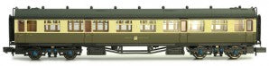 Dapol 2P-000-056 N Gauge GWR Collett Composite Coach 7023