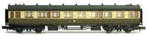 Dapol 2P-000-157 N Gauge GWR Collett 3rd Class Coach 1116