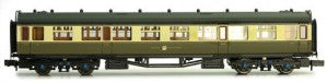 Dapol 2P-000-158 N Gauge GWR Collett 3rd Class Coach 1096