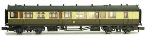 Dapol 2P-000-281 N Gauge GWR Collett Brake Coach 6541