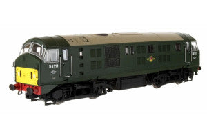 Dapol 4D-025-004D OO Gauge Class 21 D6111 BR Green SYP (DCC-Fitted)