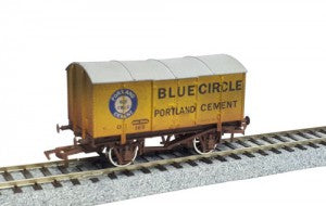 Dapol 4F-013-038 OO Gauge Gunpowder Van Blue Circle 169 Weathered