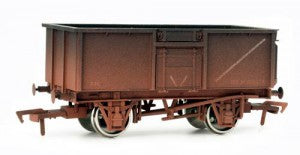 Dapol 4F-030-010 OO Gauge 16t Steel BR Bauxite Mineral Wagon M620674 Weathered