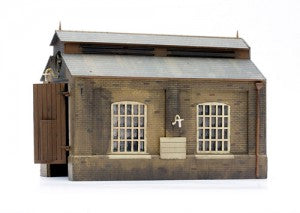 Dapol C007 OO Gauge Engine Shed Plastic Kit