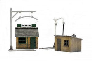 Dapol C011 OO Gauge Trackside Accessories Plastic Kit