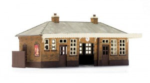 Dapol C014 OO Gauge Booking Hall Plastic Kit