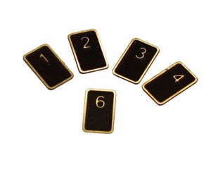 DCC Concepts CS99 Cobalt S Etched Brass Numbers (1-99)