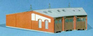 Faller 120176 HO Gauge 3 Road Roundhouse Kit