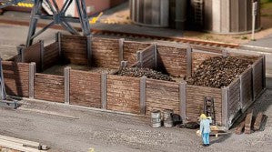 Faller 120254 HO Gauge Coal Bunkers Kit