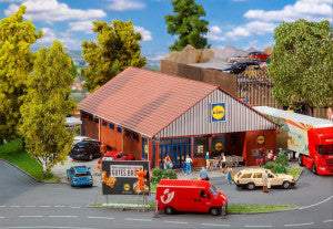 Faller 130615 HO Gauge Lidl Supermarket Kit