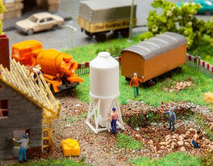Faller 272914 N Gauge Building Site Silo Kit