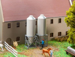 Faller 272915 N Gauge Farm Fodder Silo Kit