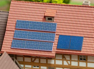 Faller 272916 N Gauge Solar Panels Kit