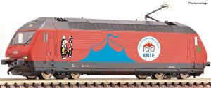 Fleischmann 731501 N Gauge SBB Re460 058-1 Circus Knie Electric Locomotive VI