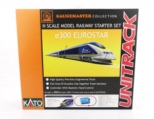 Gaugemaster GM2000102 N Gauge Eurostar e300 12 Car Premium Train Set